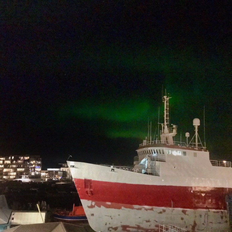 Northern lights, Reykjavik