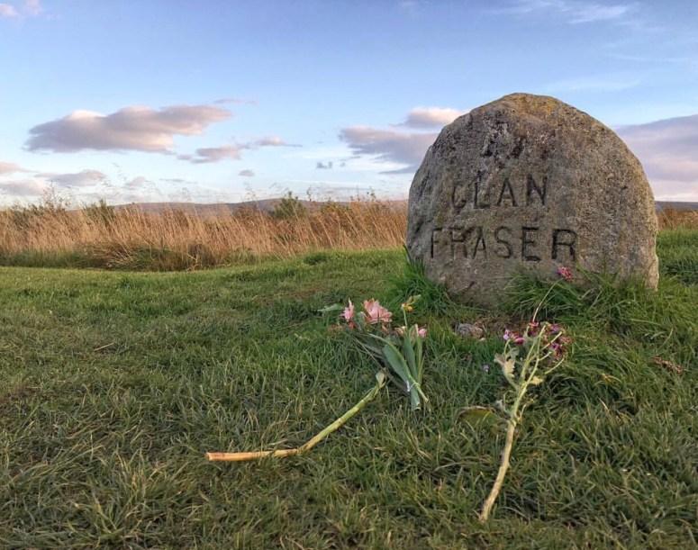 Clan Fraser graves Culloden Battlefield