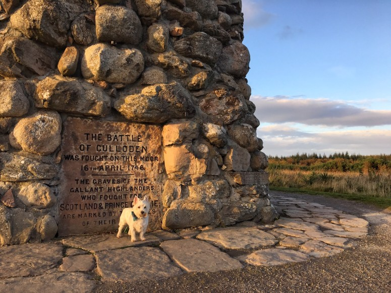 Culloden Battlefield, Outlander