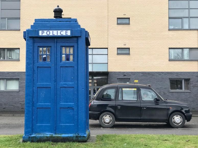 Police Box, Glasgow