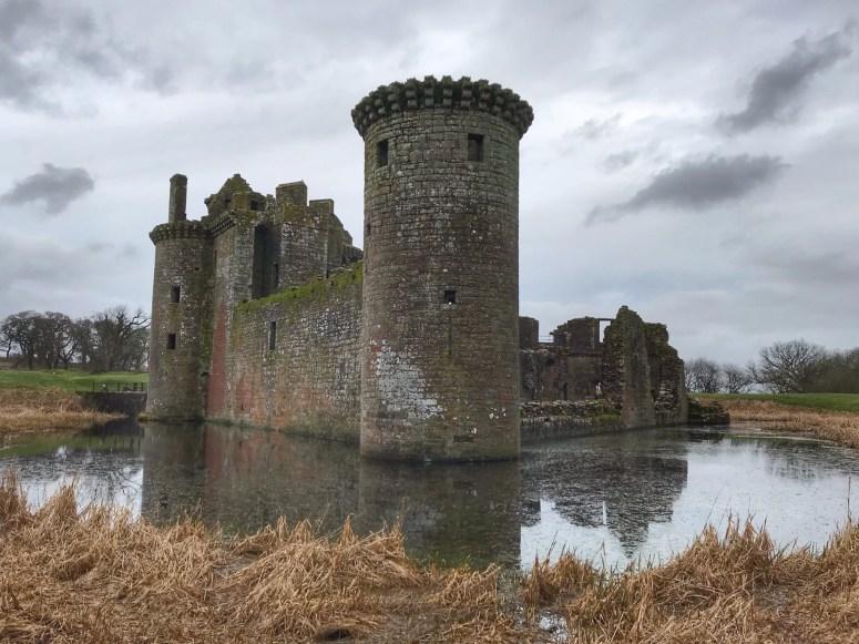 Caerlaverock Castle, Dumfries and Galloway