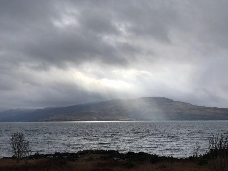 Light over Isle of Mull
