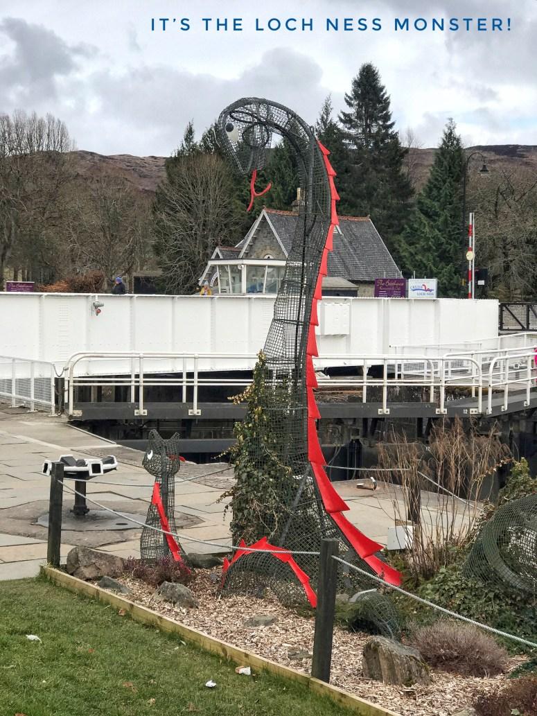 Loch Ness Monster, Fort Augustus
