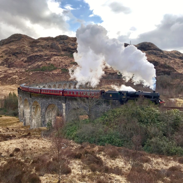 The Jacobite, Glenfinnan Viaduct