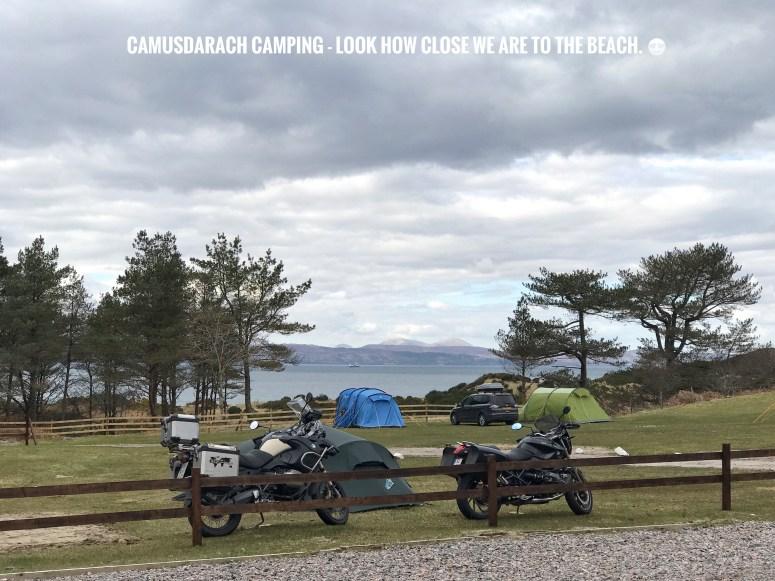 Camusdarach Camping