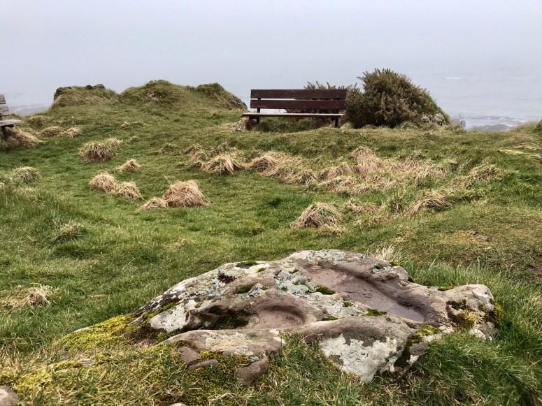 St Columba's Footprints, Kintyre Peninsula