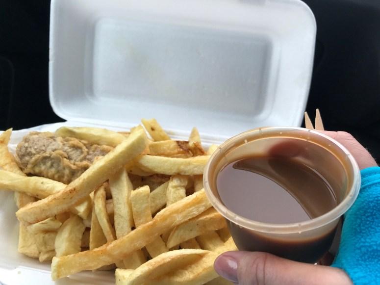 Edinburgh chippy sauce