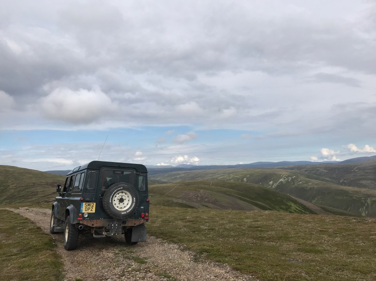 Land Rover Safari, Atholl Estates