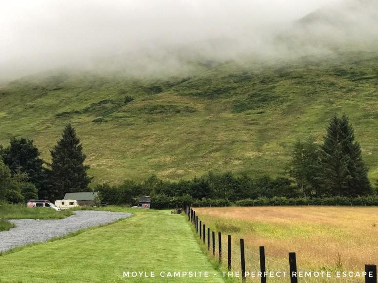 Moyle Campsite, Glenelg