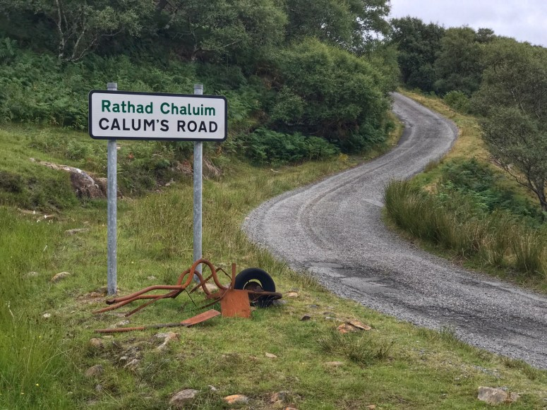 Calum's Road, Raasay