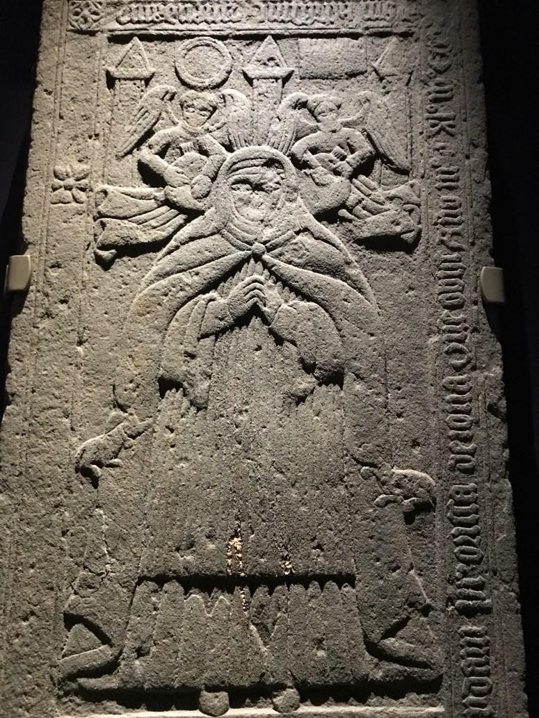 Medieval grave slab, Isle of Iona