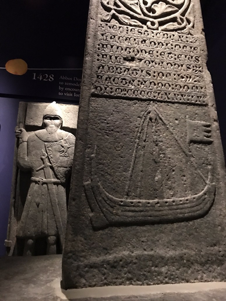Medieval grave slabs, Isle of Iona