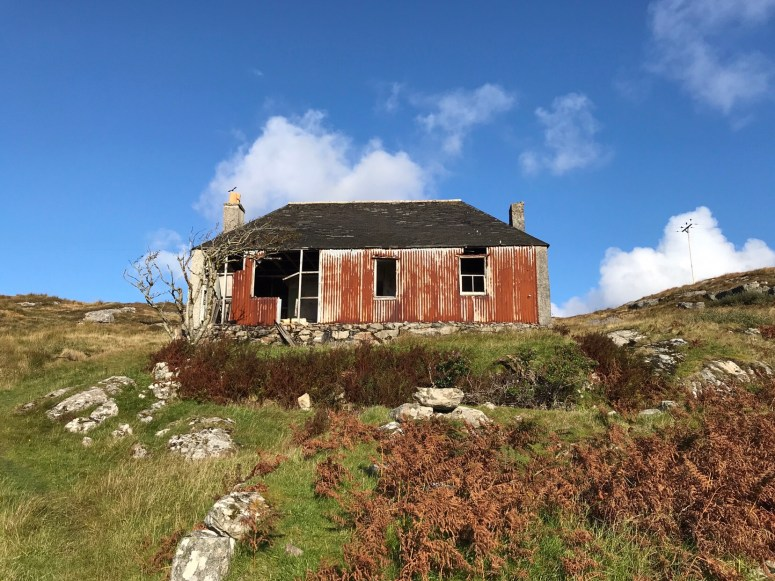 Abandoned croft, Outer Hebrides