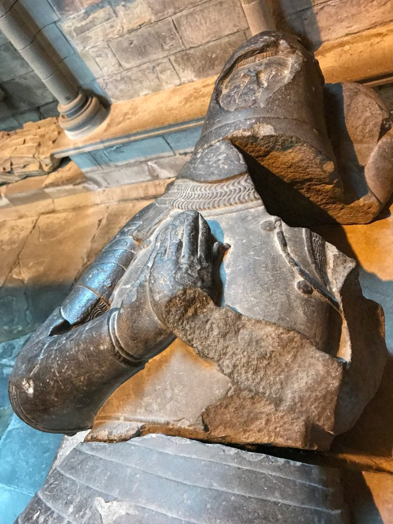 The Wolf of Badenoch, Dunkeld Cathedral