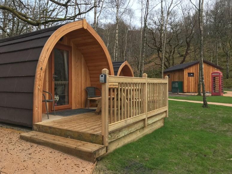 Loch Katrine Eco Camp