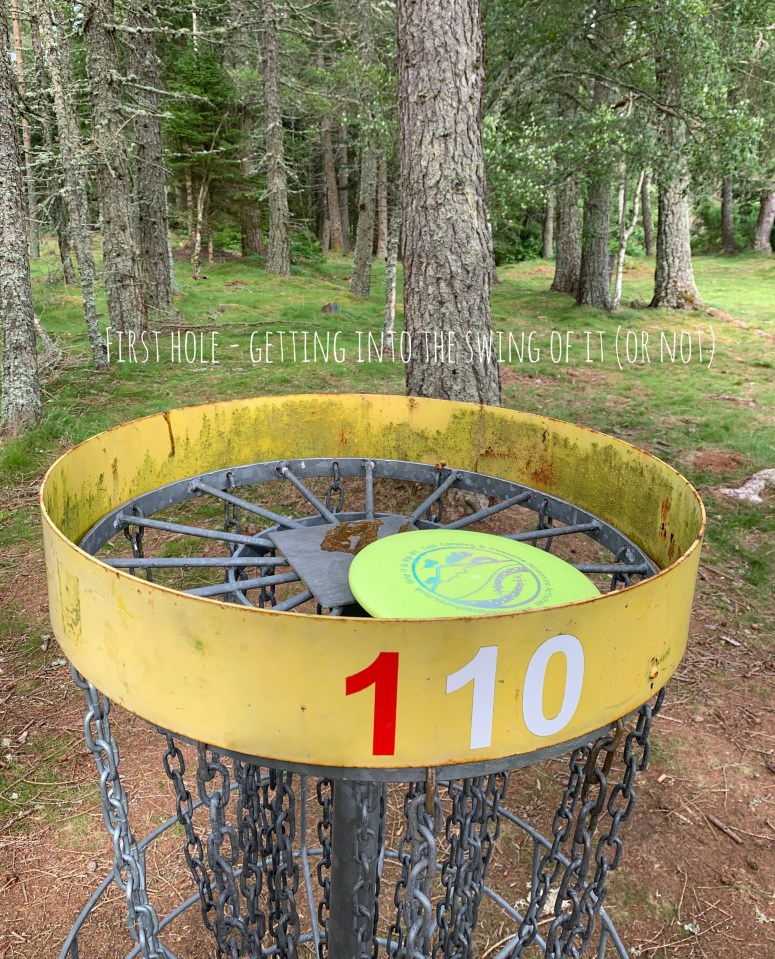 Disc Golf, Ace Adventures