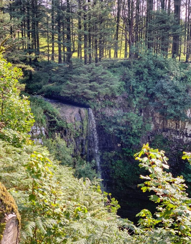 Eas Mor Waterfall, Arran