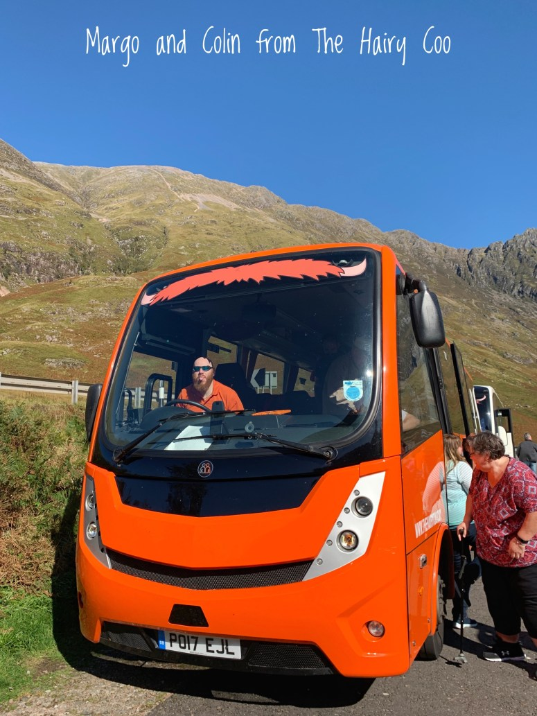 The Hairy Coo tours Edinburgh