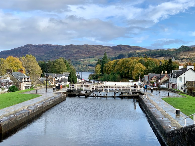 Caledonian Canal, Fort Augustus