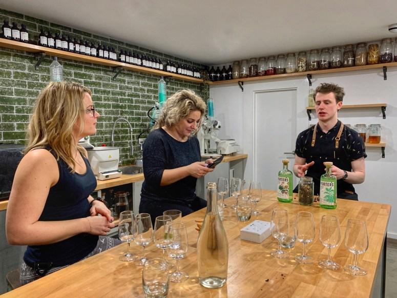 Porter's Gin tour Aberdeen