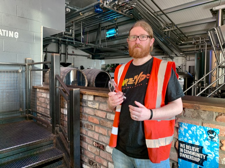 BrewDog tour, Ellon