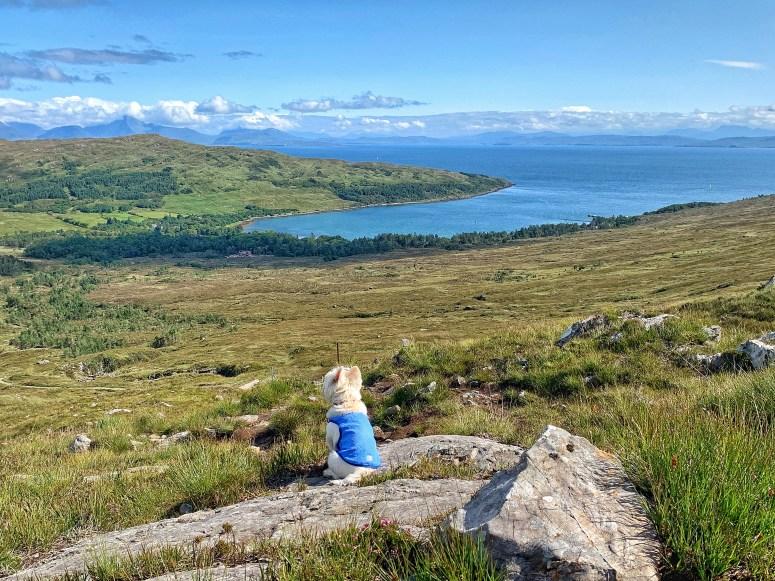 Coire Dubh walk Isle of Rum
