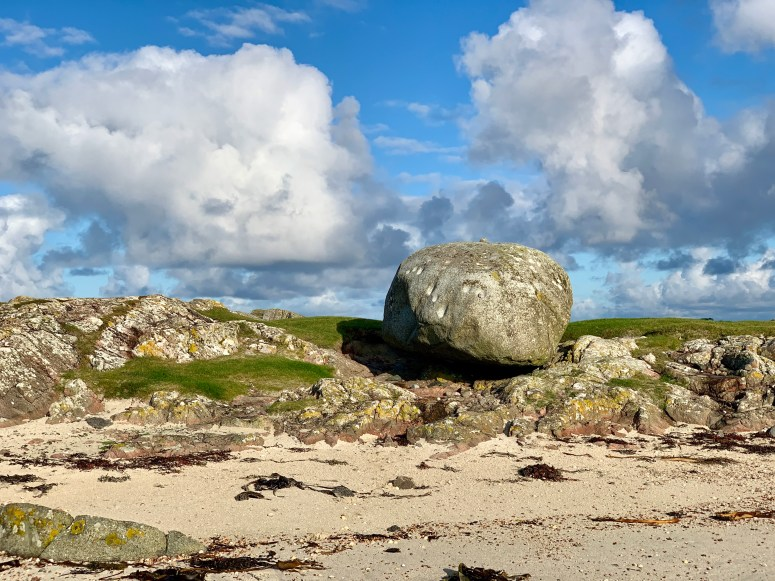 Ringing stone, Isle of Tiree