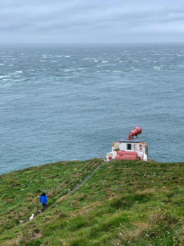 Fog horn, Mull of Galloway