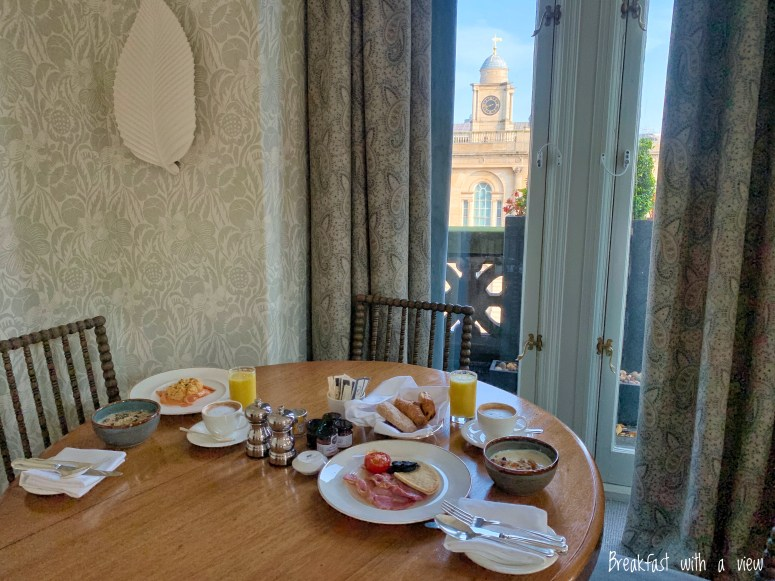 Breakfast with a view - The Balmoral
