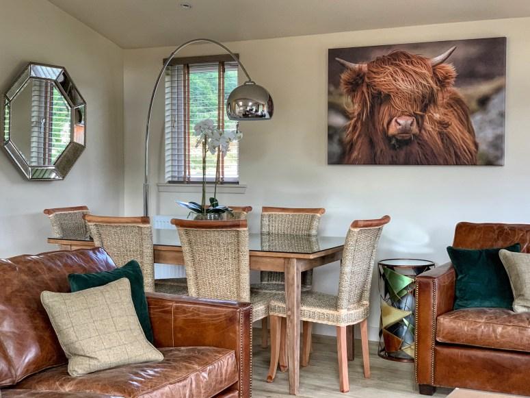 Luxury lodge break in Perthshire