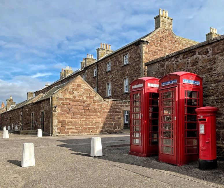 Things to do in Nairn, Fort George