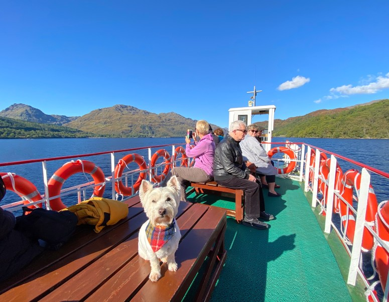 Things to do in Argyll, Cruise Loch Lomond