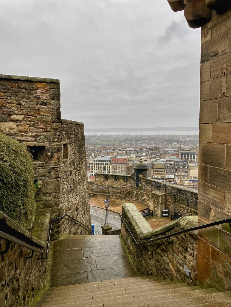 Edinburgh staycation, Edinburgh Castle