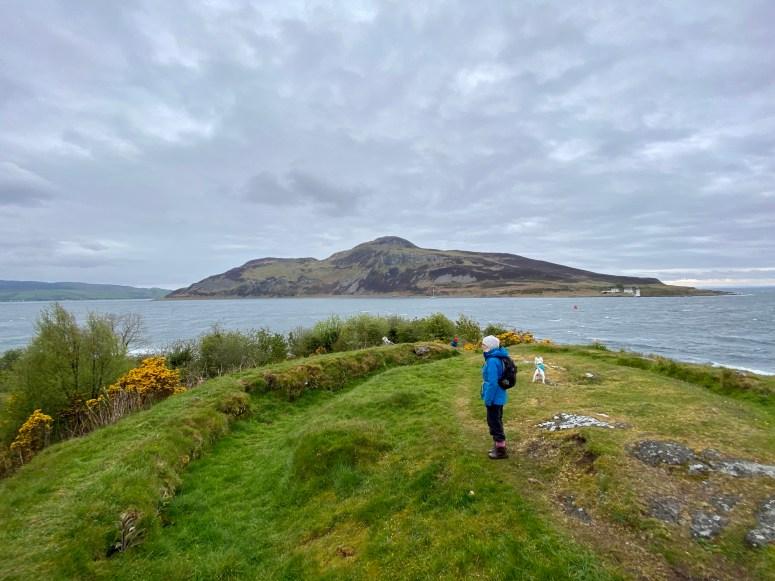 Holy Isle from Kingscross Point, Isle of Arran