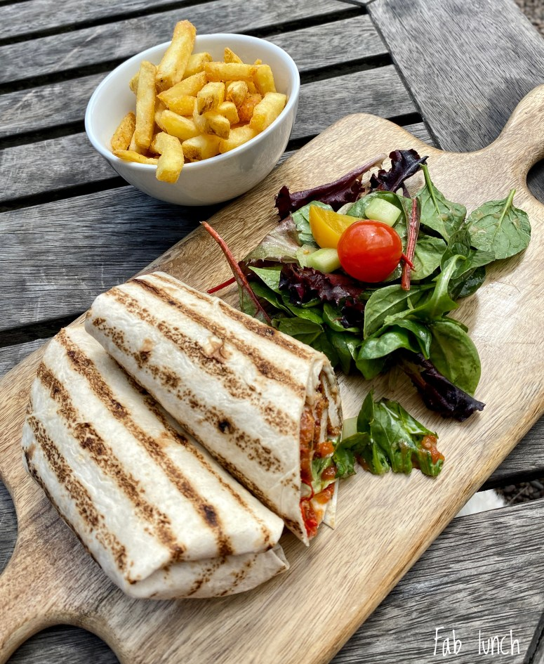 Lunch, The Terrace Cafe, Floors Castle