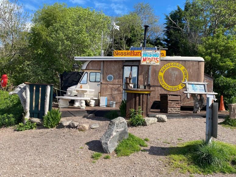 Nessie Hunter, Dores, Visit south Loch Ness