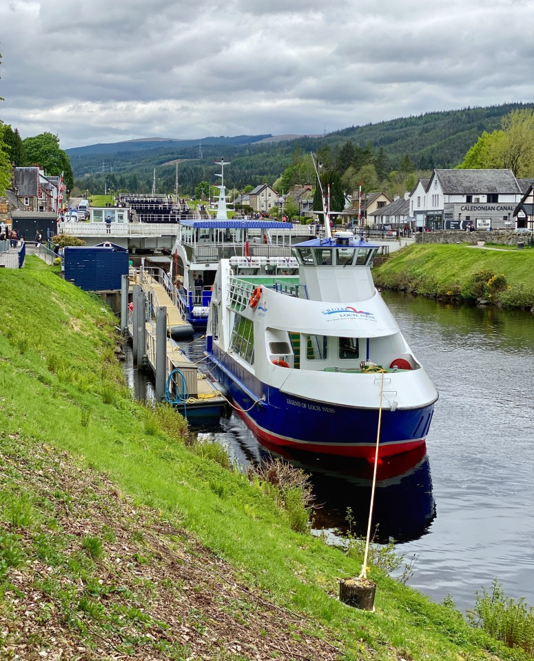 Cruise Loch Ness, Fort Augustus