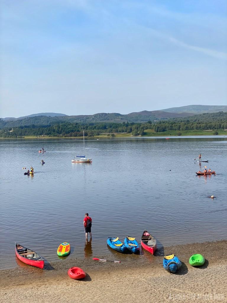 Loch Inch staycation in scotland