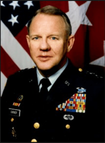 U.S. Army Jay Garner in 1994.