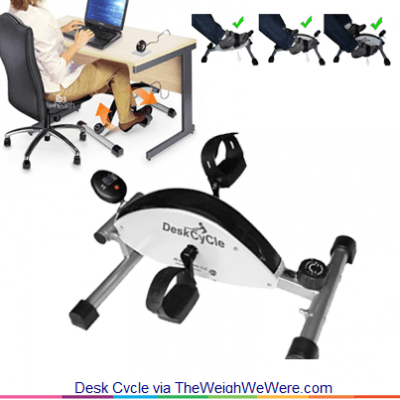 Desk Cycle the UnderDesk Pedal that Keeps you Fit at Work  The Weigh We Were
