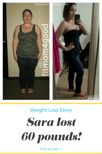 Sara lost 60 pounds! See my before and after weight loss pictures, and read amazing weight loss success stories from real women and their best weight loss diet plans and programs. Motivation to lose weight with walking and inspiration from before and after weightloss pics and photos.