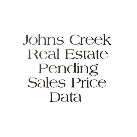 City Of Johns Creek Real Estate Market
