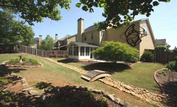 Home In Roswell Located In Crabapple Parc For Sale