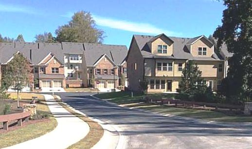 Suwanee GA Townhomes Built By Lennar