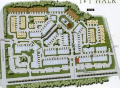 Luxury Gated Townhome Ivy Walk Site Plan
