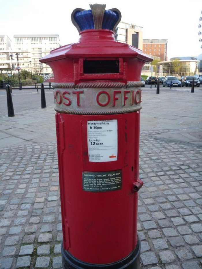 Stately Letterbox