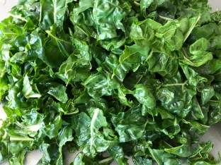 The Well-Intended's Chopped Chard