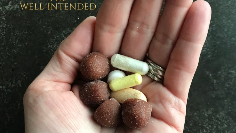 Vitamins, Supplements, Micronutrients for Wellness, The Well-Intended