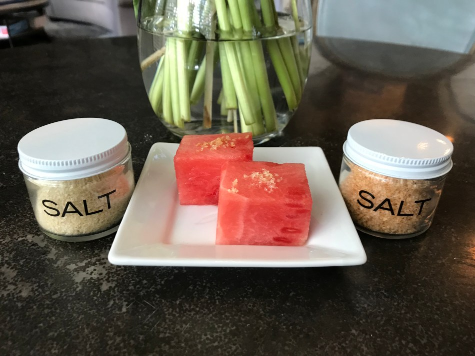 The Well-Intended Salted Watermelon