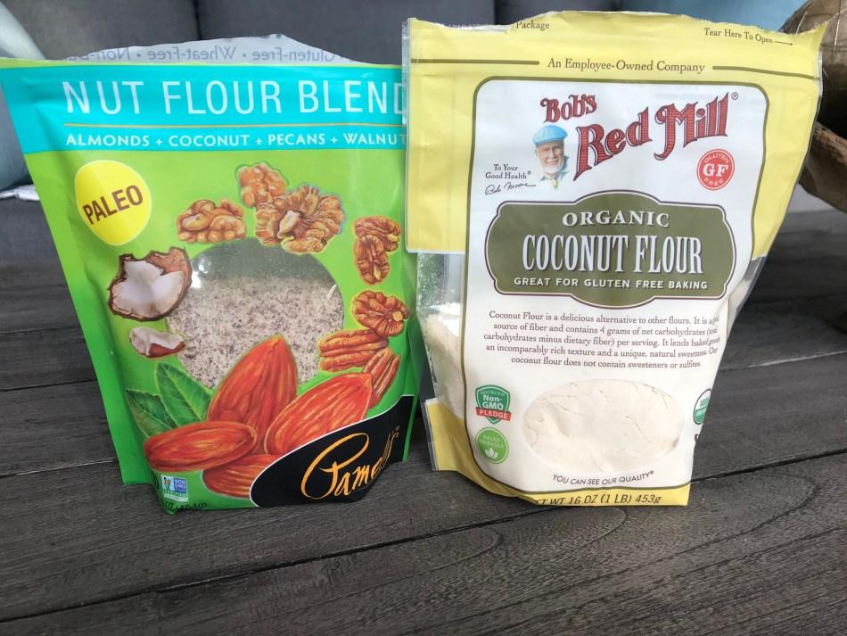 Nut Flour, Coconut Flour